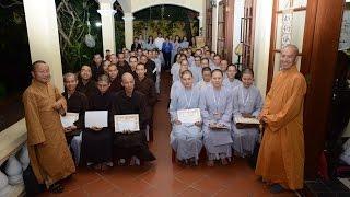 Lễ trao học bổng Đạo Phật Ngày Nay 2014