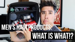 """Hey guys! Welcome back to my channel. In today's video I'll be breaking down men's hair products. I know it can be kind of daunting when shopping for hair products...especially when you don't know what hair product does what? Hopefully this video helps some of you out! Thanks for subscribing to my channel. ▹ BUSINESS INQUIRIES: CONTACT@JAIRWOO.COM▹ SUBSCRIBE! IT'S FREE: http://bit.ly/1fwucqq▹ SNAPCHAT, INSTAGRAM & TWITTER @JAIRWOO▹ TOP 5 SPRING FASHION TRENDS: http://bit.ly/1FZLPAe▹ HOW TO STYLE DENIM JACKET: http://bit.ly/1B5yRue ▹ BUY MY #JWxTV bracelets: http://bit.ly/1BeTk3AS O C I A L M E D I A -✘ S N A P C H A T@JAIRWOO✘ I N S T A G R A Mhttp://www.instagram.com/jairwoo✘ LIKE MY OFFICIAL FACEBOOK!http://facebook.com/officialjairwoo✘ T W I T T E R http://www.twitter.com/jairwoo✘ T U M B L R http://www.jairwoo.tumblr.com✘ B L O G http://www.jairwoo.com✘ JAIRWOO TV http://bit.ly/VcCxXXC A M E R A S & E D I T I N G✘ Editing Software: Final Cut Pro Xhttp://apple.co/1lkUrII✘ Camera: Canon EOS 70D SLRhttp://amzn.to/1HrenUL----------------------------------------------------------""""A leading YouTube Mens Fashion & Lifestyleguru based in Palm Springs, who hasearned 330K+ subscribers. Jair offersinformative, educational, and funtutorials as well as mens products,hair styling advice, and tips onpersonal style."""" ____________________________________________________"""