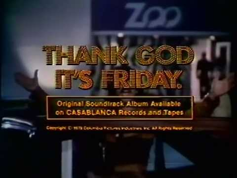 Thank God It's Friday 1978 TV Trailer