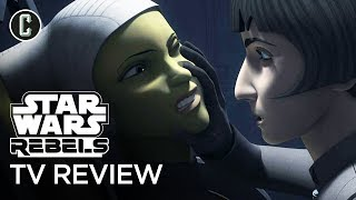 Star Wars Rebels Review - Season 4 Episode 10 Jedi Night by Collider