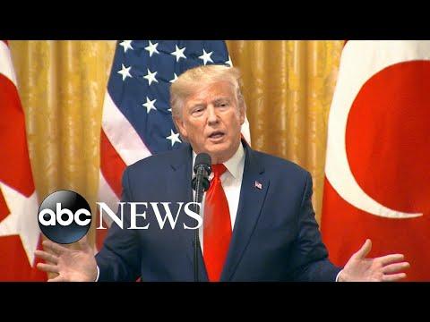Trump on impeachment hearing вI hear itвs a jokeв  GMA