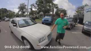 Autoline's 2008 Chrysler 300 LX Review Walk Around Test Drive