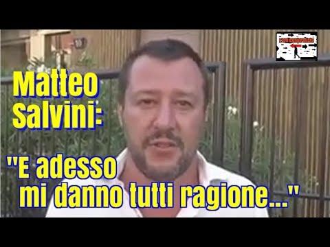 """salvini attacca il governo: """"è colpa vostra, prima gli italiani"""""""