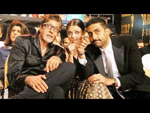 Abhishek Bachchan - Amitabh Bachchan, Aishwarya Rai Bachchan and Abhishek Bachchan who were last seen together on screen 9 years back in Kajra re song from the film Bunty Aur Ba...