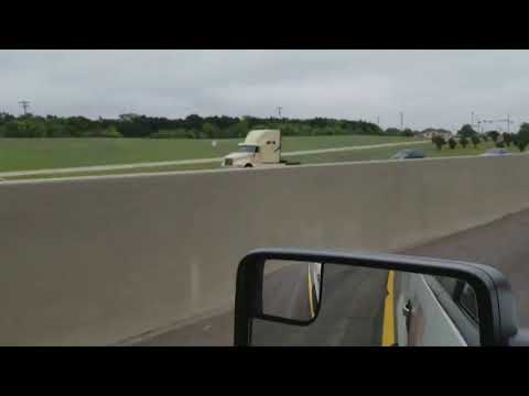 Cell phone video captures wrong-way crash on I-20