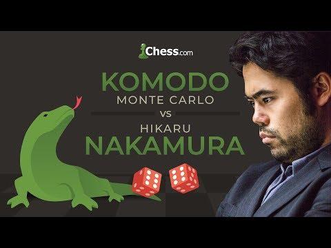 Hikaru Nakamura vs Komodo: Blitz and Rapid Chess Match (видео)