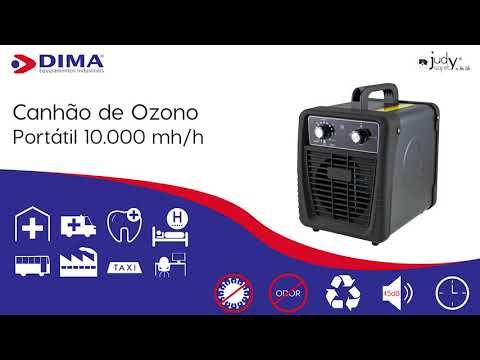 Canhão de Ozono 10.000 mg/h