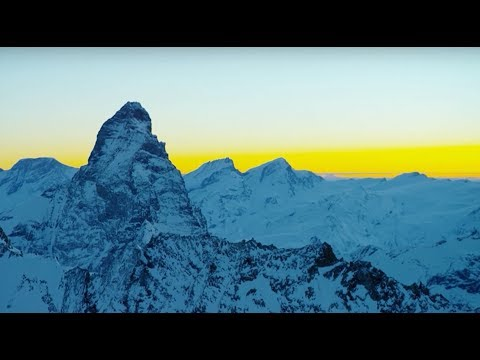 A Soothing 10 Hour Visual Soundscape Featuring Scenic Mountain Footage Taken by Planet Earth