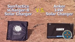 The Southwest Backpacker Compares sCharger-8 Vs. Anker 14W
