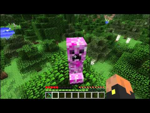 Minecraft Elemental creepers mód s downloadem