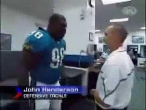Crazy NFL player (John Henderson)