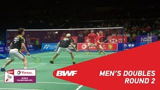 Download Video MD | GIDEON/SUKAMULJO (INA) [1] vs HAN/ZHOU (CHN) | BWF 2018 MP3 3GP MP4