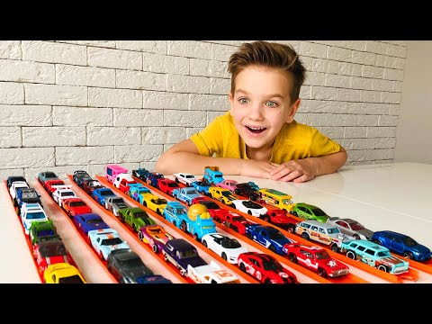Mark and stories for kids about hot wheels cars
