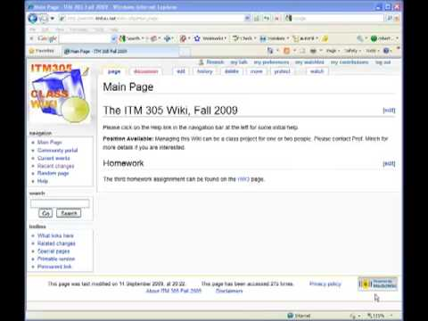 Creating wiki pages in MediaWiki