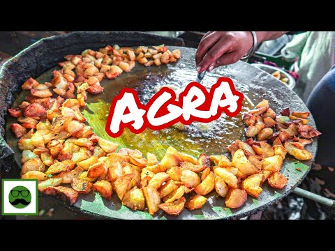 Night Street Food  Tour In Sanjay Palace, Agra With Veggiepaaji