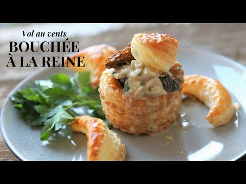 Bouchée A La Reine: A Warm Starter Fit For A Queen (French Classic)