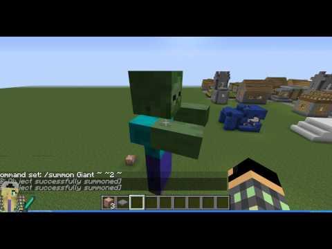 Как сделать спавнер гиганта зомби в майнкрафт