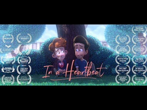 In a Heartbeat - Animated Short Film (видео)