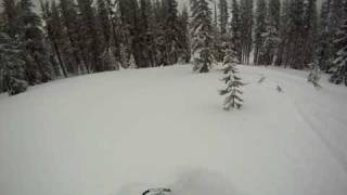 7. RMK 900 vs. Polaris Pro in Deep powder 2/23/2012
