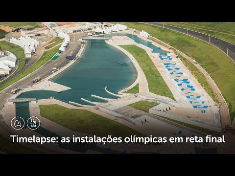 Vídeo mostra avanço das obras para as Olimpíadas de 2016