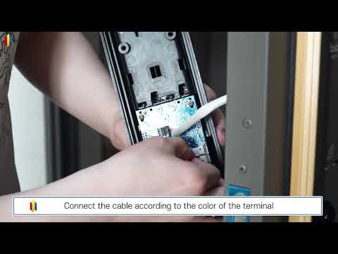 Electronic smart lock BABA 8100 door lock knob