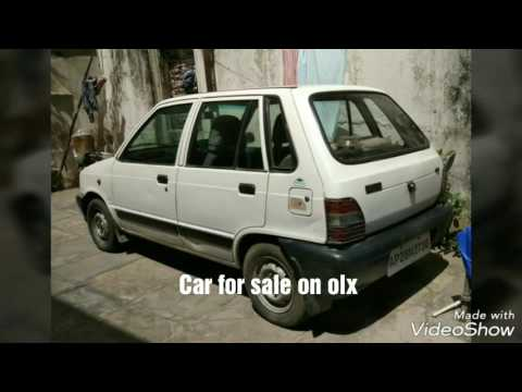maruti 800 car sale on olx  it is in good condition
