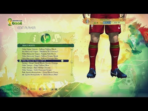 FULL HD - Complete List of Boots in 2014 FIFA World Cup Brazil. Check out my channel for more FIFA content!