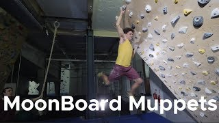 COMPETITION TIME || Moonboard Muppets by Bouldering Bobat