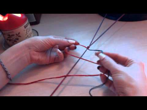 плетение витого оберега