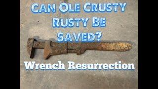 Video OLD J.H.  Williams Wrench Restoration MP3, 3GP, MP4, WEBM, AVI, FLV Agustus 2018