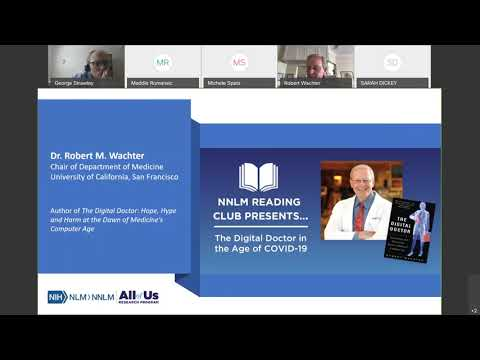 NNLM Reading Club Presents... The Digital Doctor in the Age of COVID-19