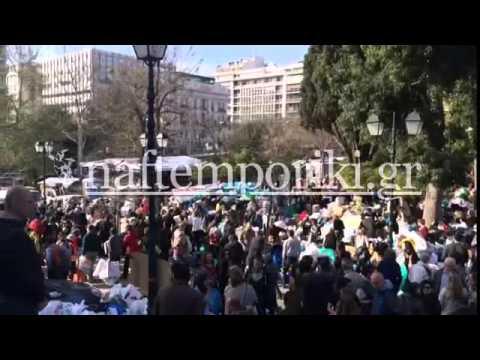 Σύνταγμα: Τεράστια η προσφορά των Αθηναίων για τους πρόσφυγες