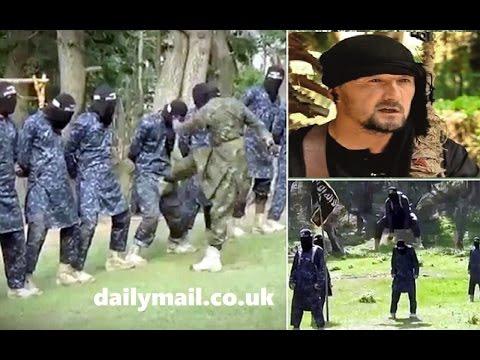 《IS伊斯蘭》 國訓練新兵影片曝光,蓋黑布猛踢下體