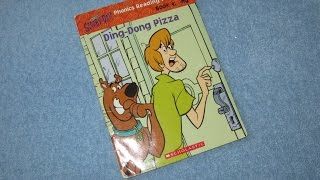 A Read Out Loud Book: SCOOBY DOO ~ Ding dong pizza