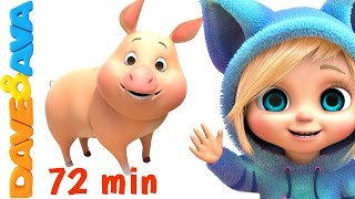 Video 🐷 Old MacDonald Had a Farm | Farm Songs Collection | Nursery Rhymes from Dave and Ava 🐷 MP3, 3GP, MP4, WEBM, AVI, FLV Juli 2019