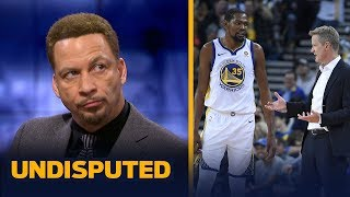 Video KD's ruptured Achilles 'was a risk' that should've been avoided — Chris Broussard | NBA | UNDISPUTED MP3, 3GP, MP4, WEBM, AVI, FLV September 2019
