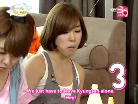 [SNSD Prank] YoonSic's Salty Food Victims