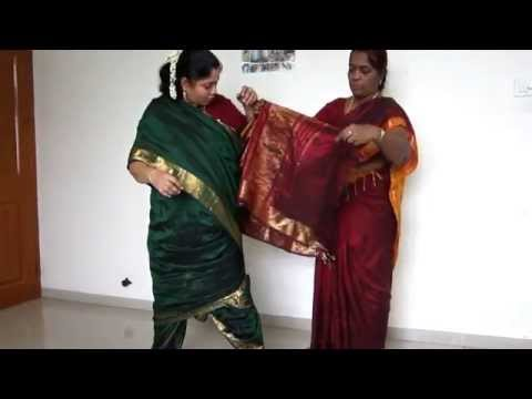 Video How to Tie Madisar Iyer Saree (www.mamamami.in/shop) download in MP3, 3GP, MP4, WEBM, AVI, FLV January 2017