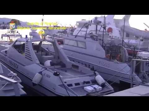 Sequestro record di marijuana in Adriatico VIDEO