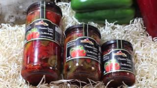 Pimientos asados a la leña de olivo