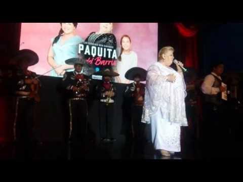"""Presentación de Paquita la del Barrio """"La Serie"""""""