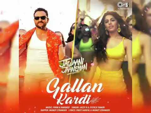 Video Gallan Kardi (Full Audio Song) - Jawaani Jaaneman | Saif Ali Khan, Tabu, Alaya F|Jazzy B, Jyotica download in MP3, 3GP, MP4, WEBM, AVI, FLV January 2017