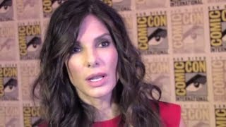 Sandra Bullock Interview - Gravity (JoBlo.com) Comic-Con 2013