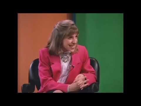 Mayim Bialik as Natalie Moore in 'Murphy Brown'