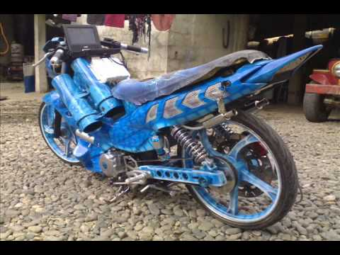 xrm honda - honda xrm 110 modified,set up,customized,upgrade.. specs.. accessories,, belt drive,, airbrush paint,, sound setup w/ portable dvd,, front/rear discbreak,, e...