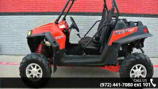 4. 2013 Polaris RZR XP 900 EFI Indy Red  - Dream Machines of...