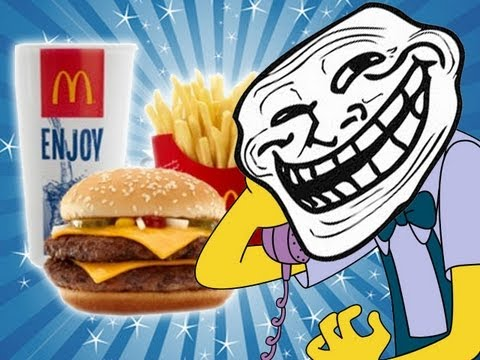 McDonalds – Poo in my Burger – Prank call