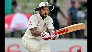 Shikhar Dhawan will replace Murali Vijay for the upcoming test series against Sri LankaOne of Abhinav Mukund and Shikhar Dhawan will join KL Rahul as openerVijay witnessed a pain in the right wrist during preparatory matchBCCI medical team has advised Vijay to continue his rehabilitation programNYOOOZ TV Videos - Dedicated to bringing you the latest and best in politics, sports, current affairs and entertainment world. From traditional sports like cricket to best Bollywood entertainment news, NYOOOZ TV is a must watch for news updates.Download our Apps on :Google Play Store :https://play.google.com/store/apps/details?id=com.newzstreettvApple Istorehttps://itunes.apple.com/us/app/newzstreet-tv-video-news/id1132005445?mt=8&ign-mpt=uo%3D4Our Websitehttp://www.nyoooz.com