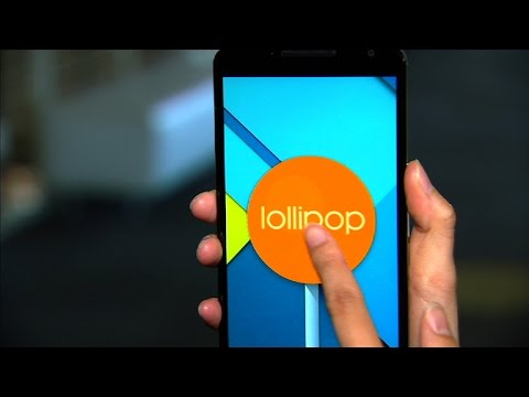 'It's - http://cnet.co/ZOeuaf Running the brand new Android 5.0 Lollipop, the 5.96-inch Nexus 6 is equipped with a 13-megapixel camera, a 1440p display, and a Snapdragon 805 processor.