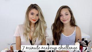 7 Minute Prom Makeup Challenge ft. Maddie Ziegler! l Olivia Jade